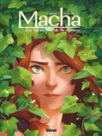 Une histoire de l'île d'Errance T2 : Macha, bd chez Glénat de Grimaldi, Plenzke