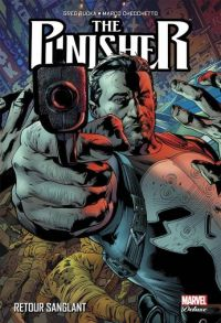 The Punisher (vol.9) T1 : Retour sanglant, comics chez Panini Comics de Rucka, Southwork, Lark, Checchetto, Clarke, Colak, Hollingsworth, Gaudiano