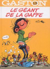 Gaston T13 : Le géant de la gaffe (0), bd chez Dupuis de Franquin, Léonardo