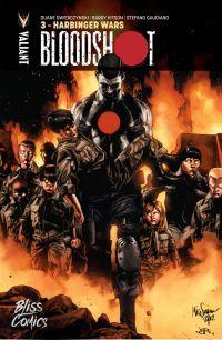 Bloodshot T3 : La guerre des Harbingers (0), comics chez Bliss Comics de Swierczynski, Crain, Kitson, Gaudiano, Reber, Suayan