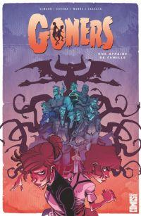 Goners : Une affaire de famille, comics chez Glénat de Semahn, Corona, Cassata