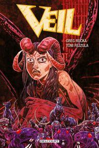 Veil, comics chez Delcourt de Rucka, Fejzula, Tomic