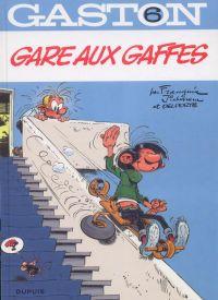 Gaston T6 : Gare aux gaffes (0), bd chez Dupuis de Franquin, Delporte, Jidéhem, Léonardo