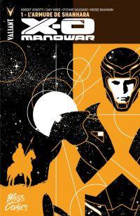 X-O Manowar (2012) T1 : L'armure de Shannarah (0), comics chez Bliss Comics de Venditti, Gaudiano, Nord, Baumann, Aja