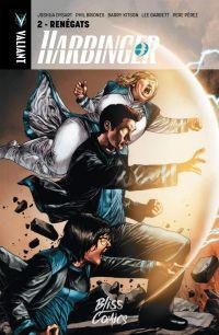 Harbinger T2 : Renégats (0), comics chez Bliss Comics de Dysart, Thies, Pérez, Clarke, Briones, Garbett, Macheras, Evans, Kitson, Martinez, Brown, Hannin, Baumann, Suayan