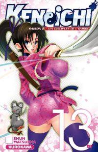 Ken-Ichi – Les disciples de l'ombre 2, T13, manga chez Kurokawa de Matsuena