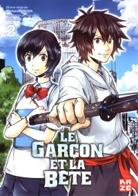 Le garçon et la bête T2, manga chez Kazé manga de Hosoda, Asai