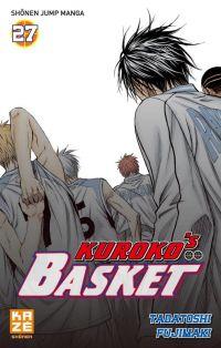 Kuroko's basket T27, manga chez Kazé manga de  Fujimaki
