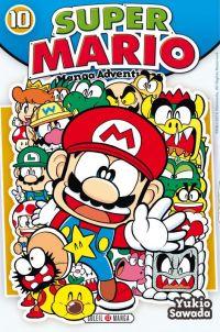 Super Mario T10, manga chez Soleil de Sawada