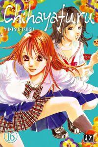 Chihayafuru T16, manga chez Pika de Suetsugu