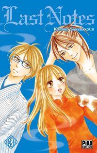 Last notes  T3, manga chez Pika de Sakurakouji