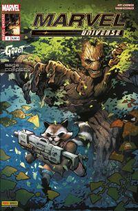 Marvel Universe T2 : Groot, comics chez Panini Comics de Loveness, Kesinger, Gandini, Stegman