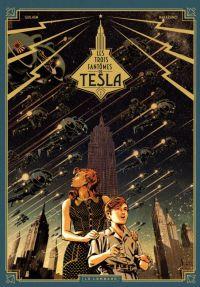 Les Trois fantômes de Tesla T1 : Le mystère Chtokavien (0), bd chez Le Lombard de Marazano, Guilhem