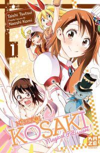 Nisekoi - Kosaki Magical Pâtissière T1, manga chez Kazé manga de Komi, Tsutsui