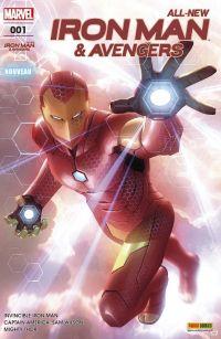 All-New  Iron Man & Avengers T1 : Reboot (0), comics chez Panini Comics de Bendis, Spencer, Aaron, Dauterman, Acuña, Marquez, Wilson, Ponsor, Garner