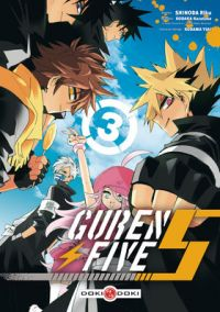 Guren five T3, manga chez Bamboo de Kodaka, Shinoda