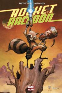 Rocket Raccoon T1 : Il était un Groot..., comics chez Panini Comics de Young, Parker, Beaulieu