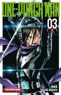 One-Punch Man T3 : La rumeur, manga chez Kurokawa de One, Murata