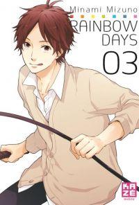 Rainbow days  T3, manga chez Kazé manga de Mizuno