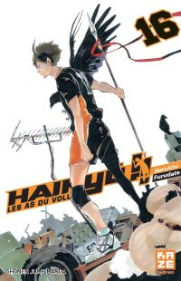 Haikyû, les as du volley T16, manga chez Kazé manga de Furudate