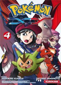 Pokémon XY T4 : , manga chez Kurokawa de Kusaka, Yamamoto