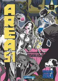 Area 51 T8, manga chez Casterman de Hisa