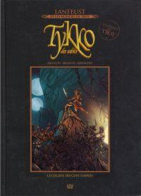 Lanfeust et les mondes de Troy T39 : Tykko des sables - La colline des sept templiers (0), bd chez Hachette de Arleston, Melanÿn, Keramidas, Kan-j, Vincent