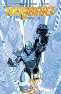 Tech Jacket T3 : Si près du ciel (0), comics chez Delcourt de Keatinge, Randolph, McCaig