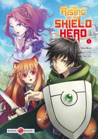 The rising of the shield hero T1 : , manga chez Bamboo de Aneko, Kyu