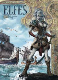 Elfes T15 : Noir comme le sang (0), bd chez Soleil de Hadrien, Crety, Popescu, Héban