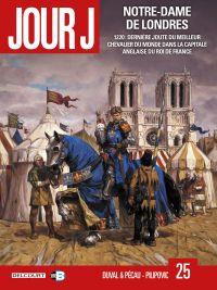Jour J T25 : Notre Dame de Londres (0), bd chez Delcourt de Pécau, Duval, Pilipovic, Thorn