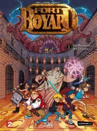 Fort Boyard T1 : Les monstres des Océans (0), bd chez Soleil de Ferré, Lannes, Le Roc'h, Odone