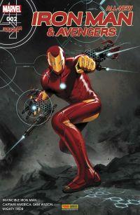 All-New  Iron Man & Avengers T2 : La guerre des elfes (0), comics chez Panini Comics de Aaron, Spencer, Bendis, Marquez, Dauterman, Acuña, Ponsor, Wilson, Epting