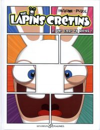 The Lapins crétins T8 : Une case en moins !, bd chez Les deux royaumes de Thitaume, Pujol, Mistablatte