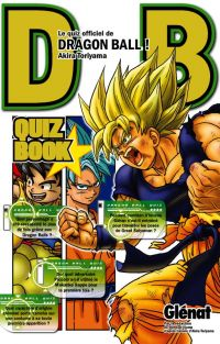 Dragon Ball Z Quiz book  T1, manga chez Glénat de Toriyama