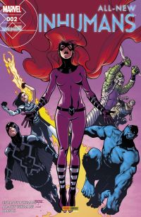 All-New Inhumans T2 : Compression temporelle, comics chez Panini Comics de Ellis, Soule, Asmus, McNiven, Caselli, Zaffino, Peterson, Leon, Brown, Gho, Woodard, Mossa, Cassaday