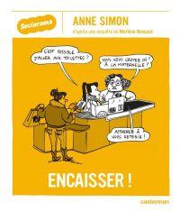 Encaisser !, bd chez Casterman de Benquet, Simon