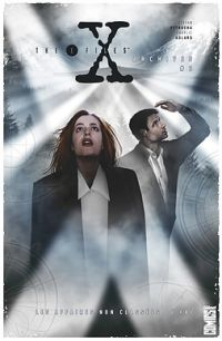The X-Files [Archives] T3, comics chez Glénat de Petrucha, Purcell, Torres, Adlard, Kim, Freeman, Smith, Digital Chameleon, Kindzierski