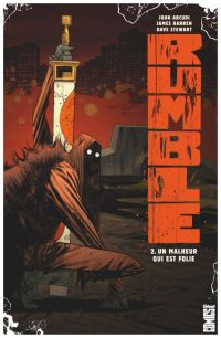 Rumble T2 : Un malheur qui est folie (0), comics chez Glénat de Arcudi, Harren, Stewart