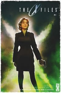 The X-Files T3, comics chez Glénat de Harris, Dow Smith, Bellaire, Bannister