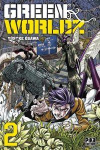 Green Worldz T2, manga chez Pika de Osawa
