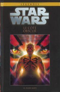 Star Wars Légendes – Dark Side, T2 : Le côté obscur - Dark Maul (0), comics chez Hachette de Marz, Duursema, McCaig