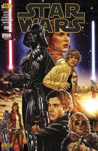 Star Wars (revue Marvel) V1 – V 1, T8 : Vador : Abattu (2/2) (0), comics chez Panini Comics de Gillen, Aaron, Larroca, Deodato Jr, Mayhew, Martin jr, Delgado, Brooks