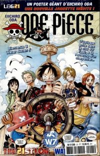 One Piece - Log Books T21 : Water Seven - 1ère partie (0), manga chez Hachette de Oda