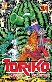 Toriko T31, manga chez Kazé manga de Shimabukuro