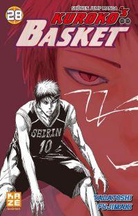 Kuroko's basket T28, manga chez Kazé manga de  Fujimaki