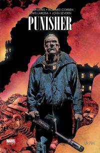 The Punisher - La fin, comics chez Panini Comics de Ennis, Corben, Severin, Larosa, Loughridge