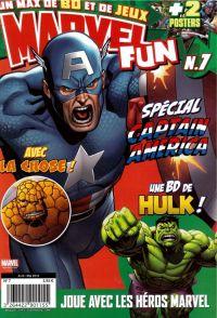 Marvel Fun T7 : Spécial Captain America (0), comics chez Panini Comics de Benjamin, Gray, Scott, Rousseau, Sotomayor, SotoColor