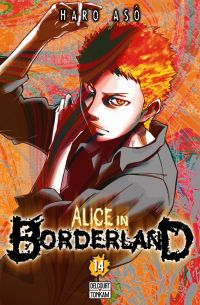 Alice in borderland T14 : , manga chez Delcourt de Haro