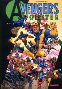 Avengers Forever T2, comics chez Panini Comics de Busiek, Stern, Pacheco, Oliff